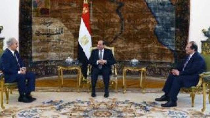 Sisi and Haftar