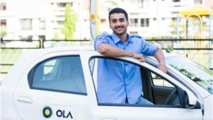 Driver with Ola