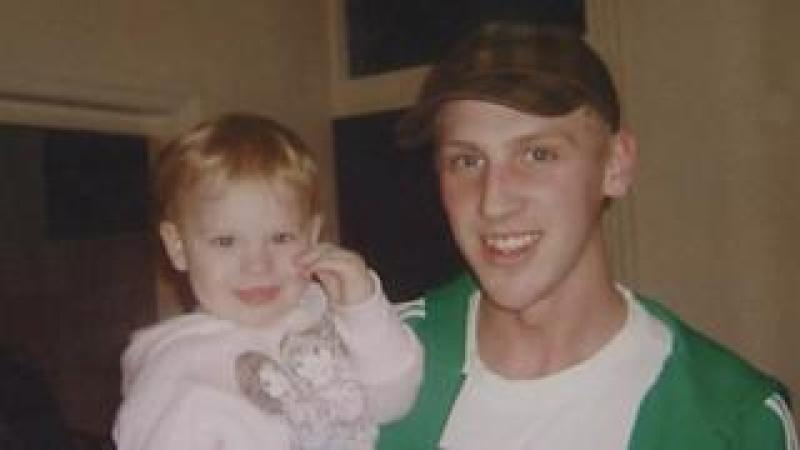 Ruby and her father Adam Chadwick