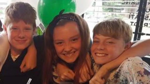 Ethan Houghton, Aimee Goldsmith and Josh Houghton