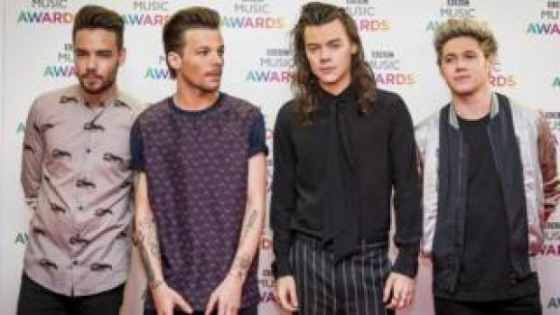 One Direction in 2015