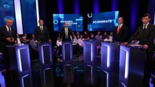 The Tory leadership hopefuls