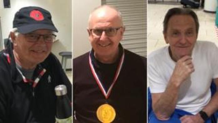David Wood, Gary Romeril and Peter De La Haye