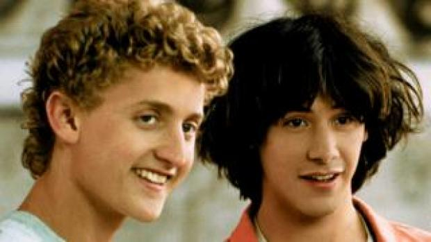 Bill & Ted (Winter and Reeves)