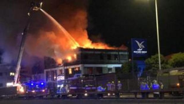 Neasden warehouse fire