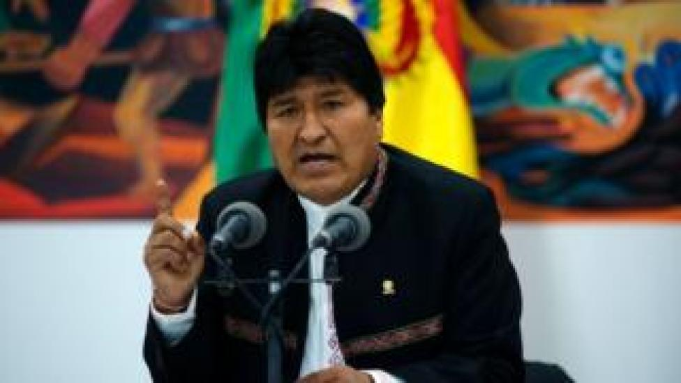 Evo Morales now lives in exile in Argentina after a disputed election last year