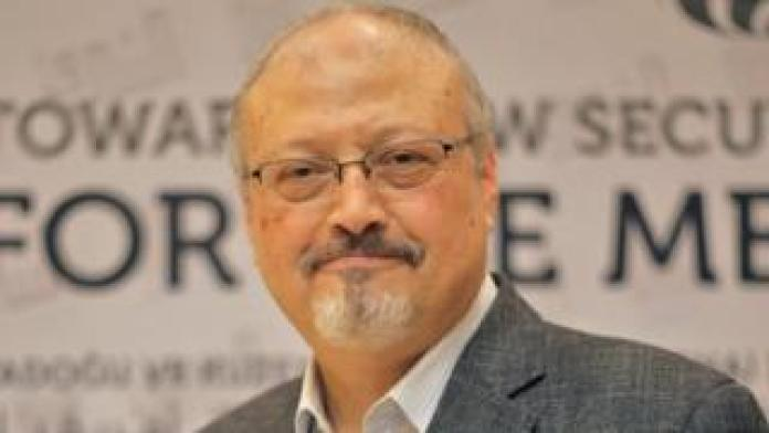 Saudi journalist Jamal Khashoggi in Istanbul, Turkey, 6 May 2018