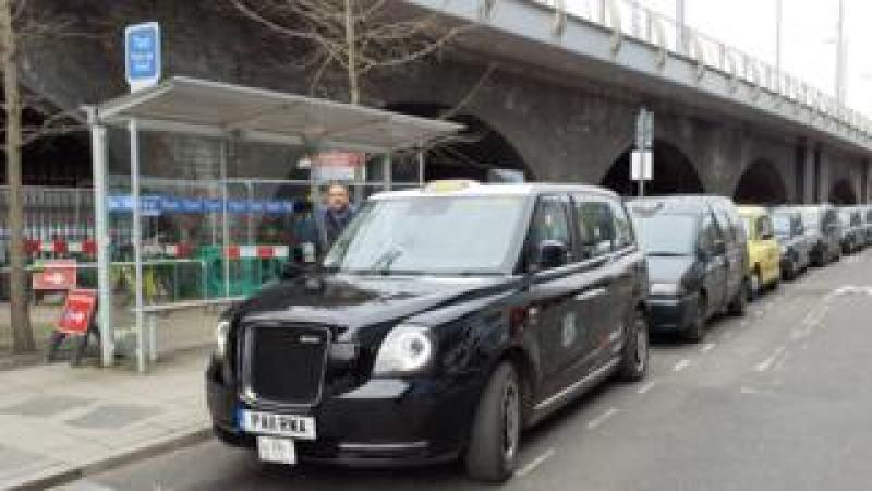 Taxi rank at Nottingham station