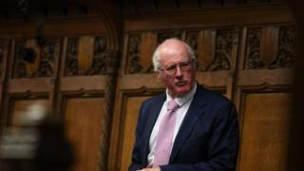 Jim Shannon appearing in the House of Commons