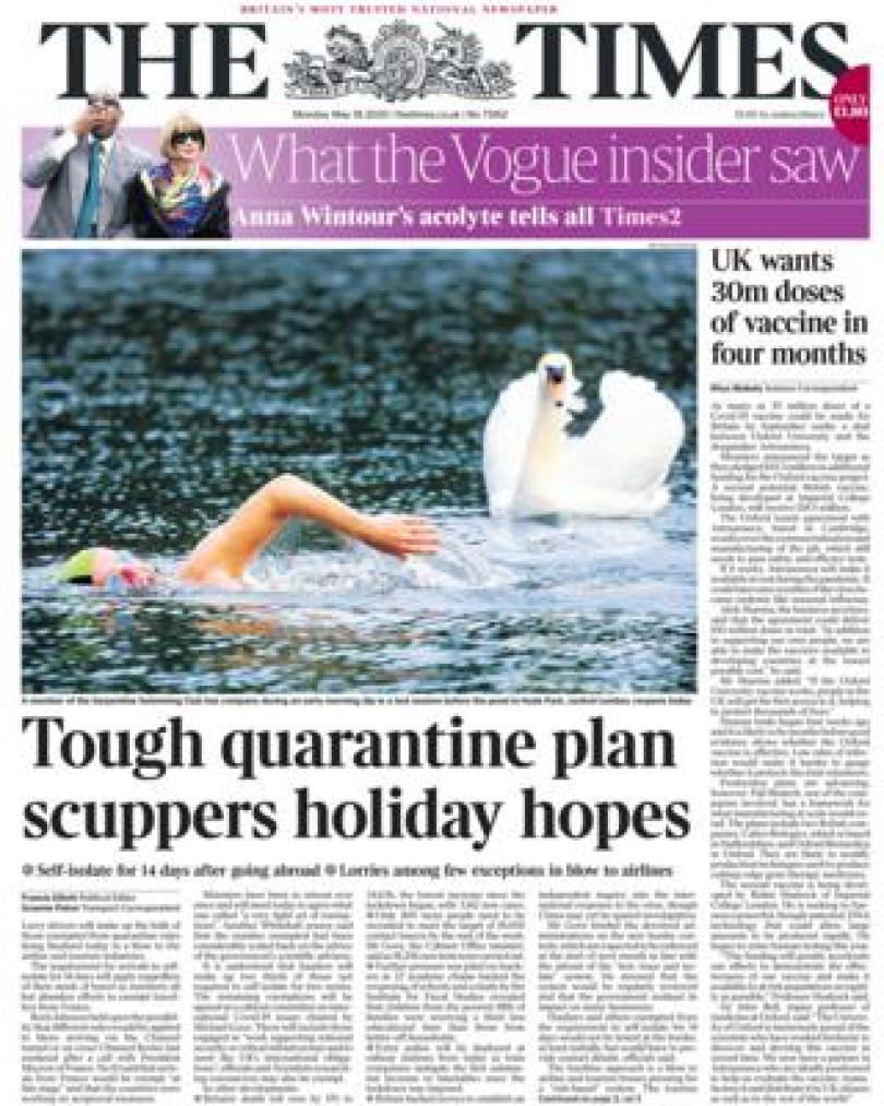 The Times 18 May 2020