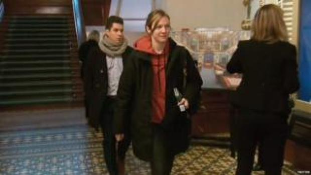 Catherine Dorion wears hoodie in Quebec parliament