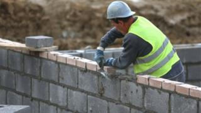 A bricklayer in Bristol