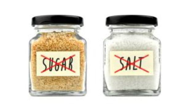 Taking out sugar and salt from food