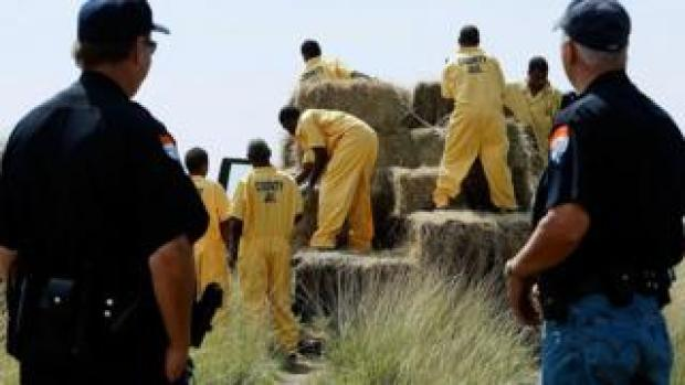 Texas prison inmates (FILE)