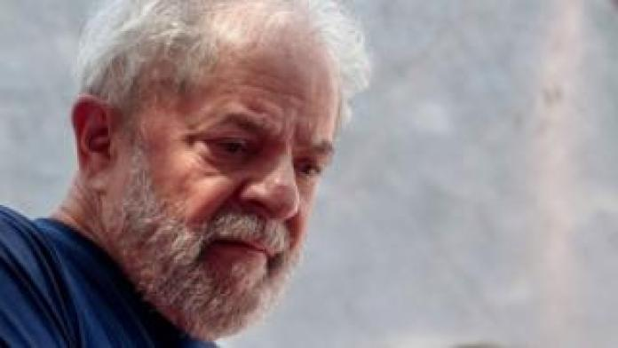 Nation breaking news File photo of Lula from April 2018