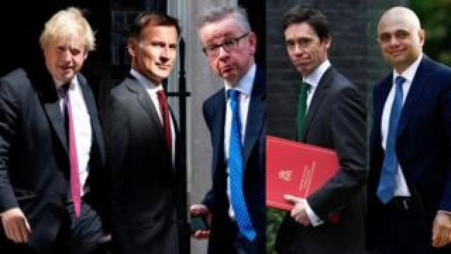 Five Tory candidates