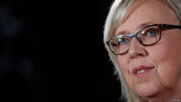 Former Green Party leader Elizabeth May