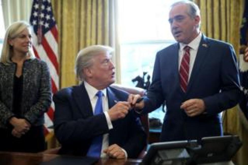Shulkin and Trump