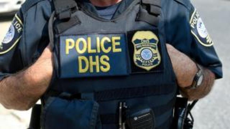 Un funcionario del Departamento de Seguridad Nacional de Estados Unidos.