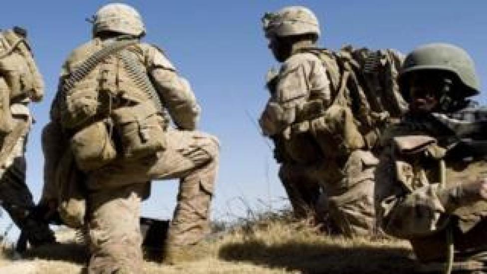 trump US soldiers in Afghanistan. File photo