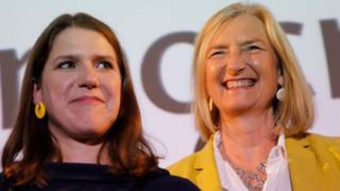 Jo Swinson and Sarah Wollaston
