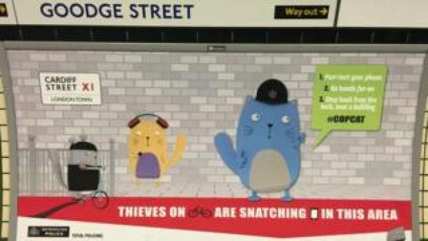 Cartoon cat campaign