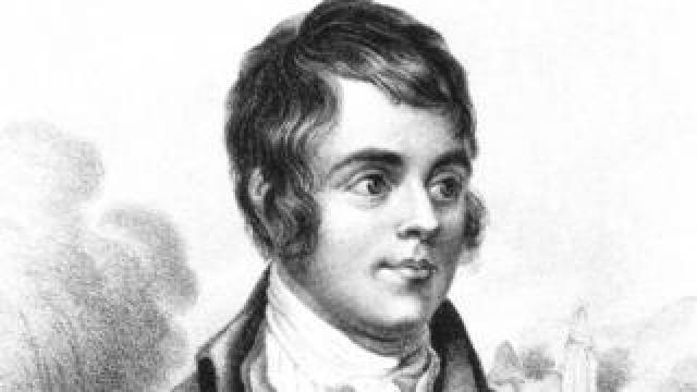 A portrait of Burns