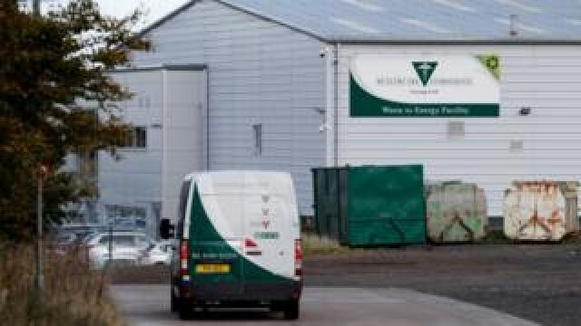 HES facility in Shotts