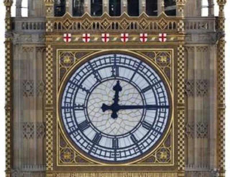 Artist's impression of new colour scheme for Big Ben