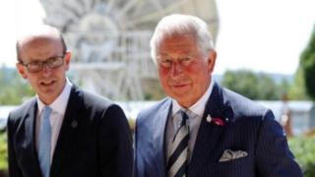 Prince Charles at GCHQ