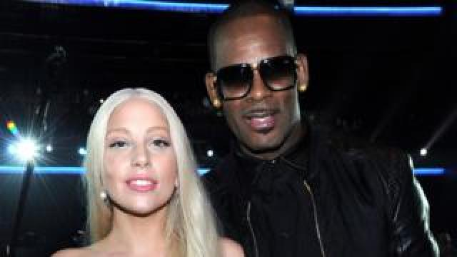 Lady Gaga and R. Kelly