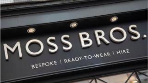 A Moss Bros shop