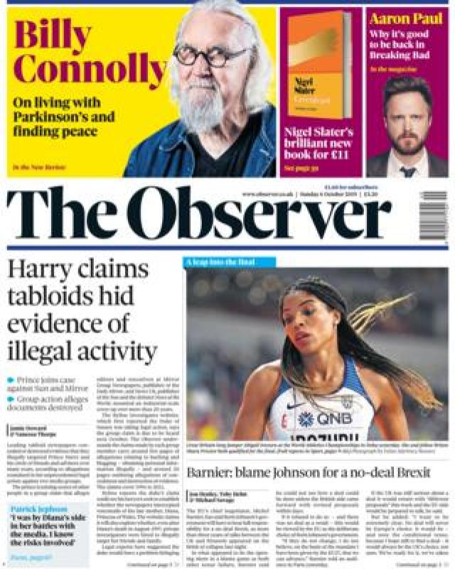 Observer 5 October 2019