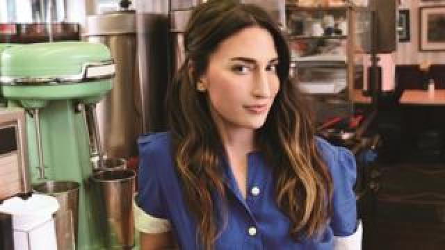 Sara Bareilles in Waitress