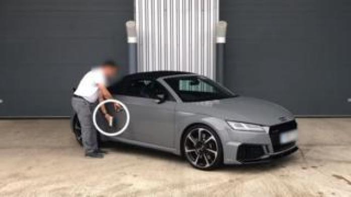 What Car? security test breaking into an Audi TT RS