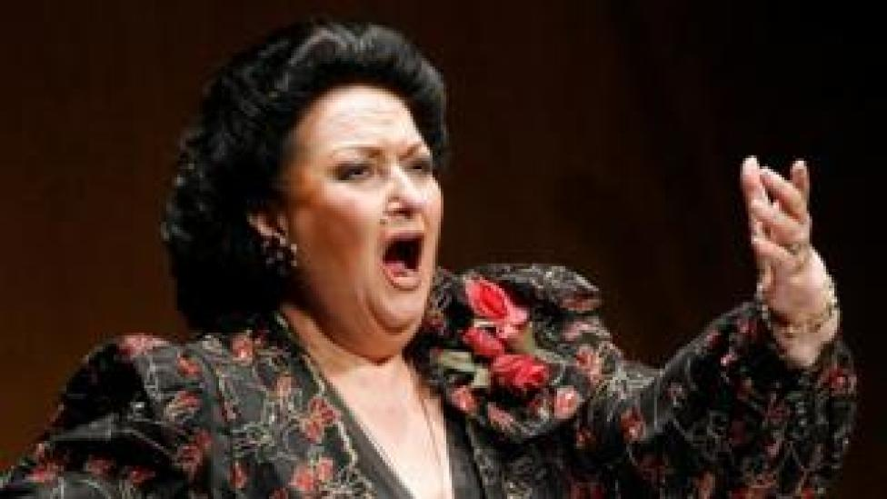NEWS Spanish soprano Montserrat Caballe performs during a concert in Santander in 2006