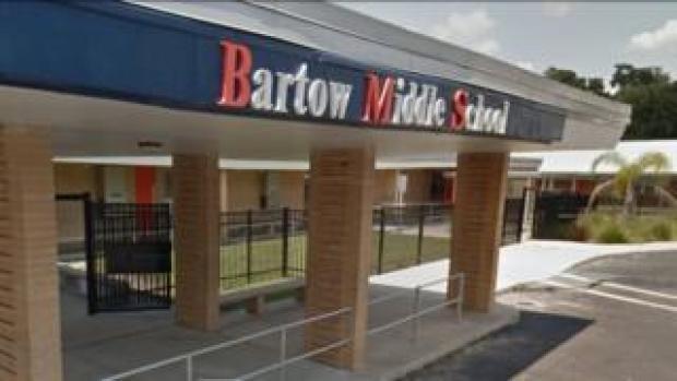 Bartow Middle School entrance