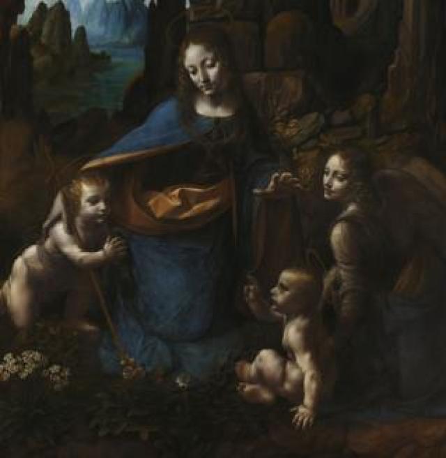 Virgin of the Rocks by Leonardo da Vinci