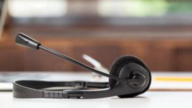 Call centre equipment