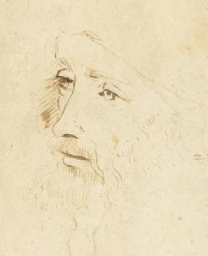 A sketch of Leonardo Da Vinci
