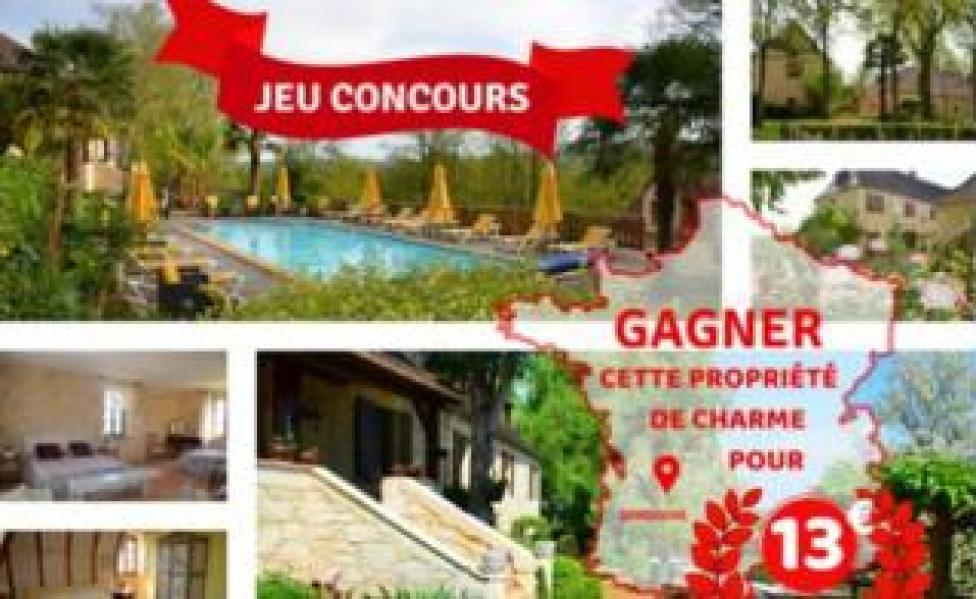 Online page for villa sale