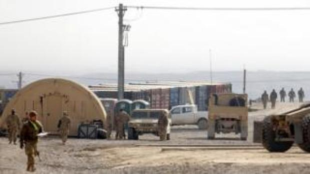 An image of Bagram airbase