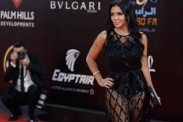 Rania Youssef at the Cairo Film Festival
