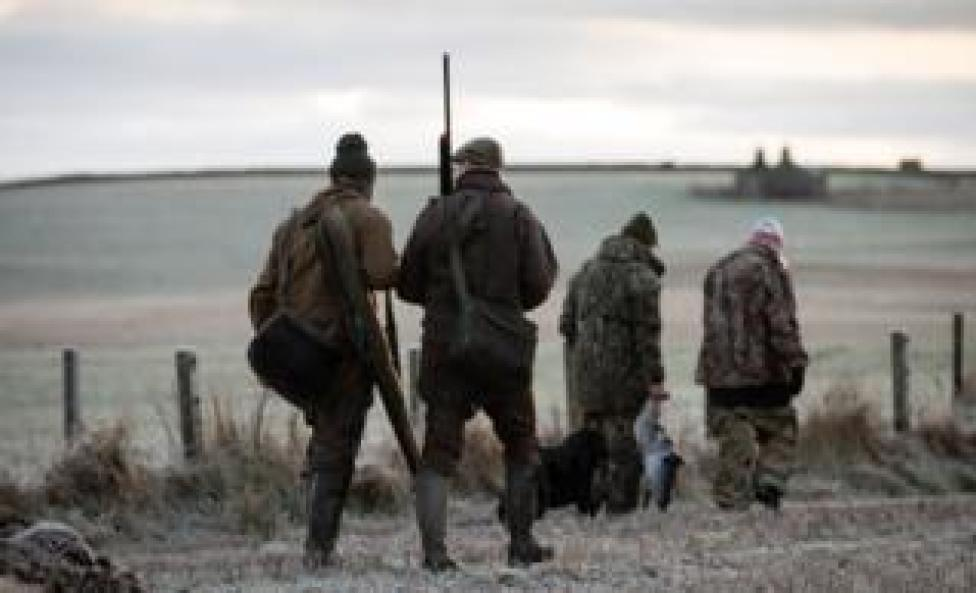 hunters going home