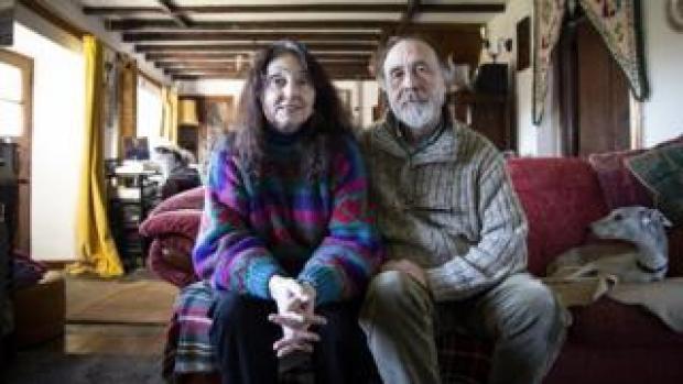 Krystyna and Geoff Boswell