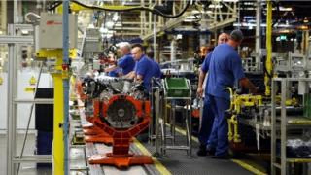 Ford workers in Bridgend