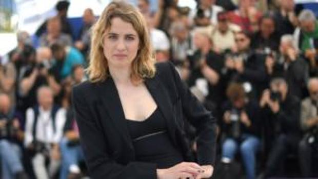 Adèle Haenel at the Cannes film festival in May 2019