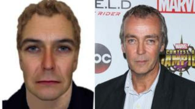 Burglary suspect/actor John Hannah