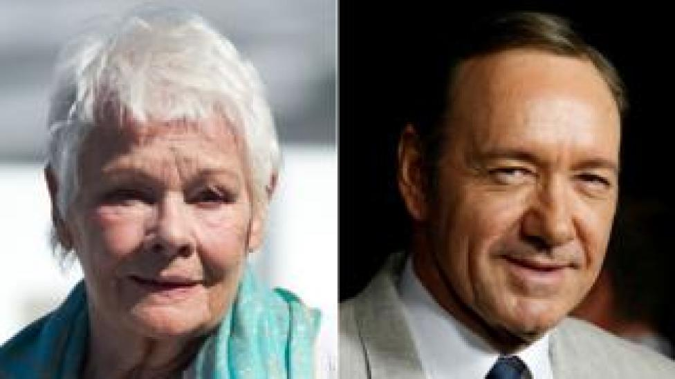 NEWS Dame Judi Dench and Kevin Spacey