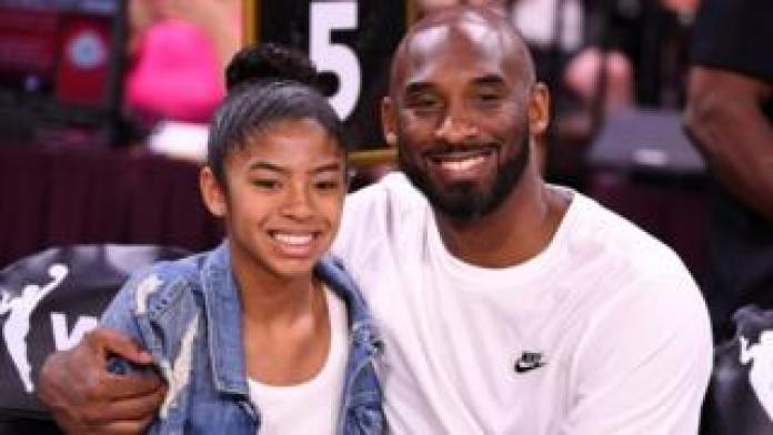 Kobe Bryant and daughter Gianna